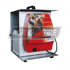 Boîtier galvanisée pour électrificateur horiSMART, farmer,ranger et hotSHOCK 12V