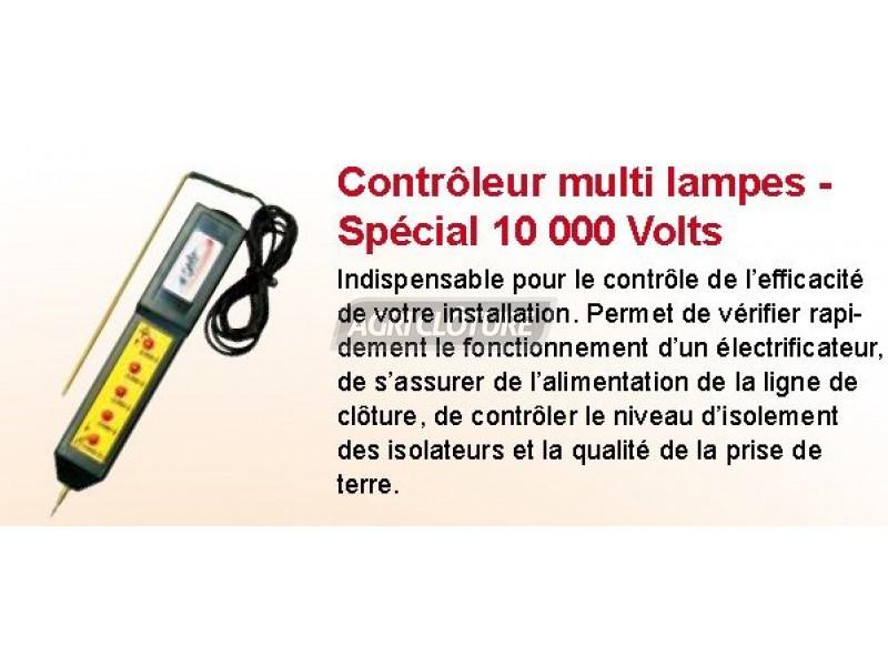 Contr leur de cl ture lectrique led 0 10 000volts avec mise la terre page accueil - Controleur de consommation electrique ...