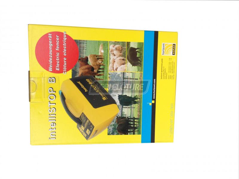Electrificateur horizont intellistop b20 pour chevaux volailles chiens chat - Cloture electrique chat ...