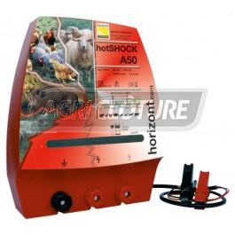 Clôture électrique 12V modèle hotSCHOCK A50 forte performance