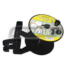 Enrouleur ABS Super Roller 1000 avec poignée ergonomique contenence jusqu'à 1000m de fil et 600m de ruban.
