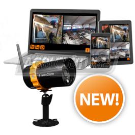 Caméra FarmCam IP Wi-Fi et mobile pour une surveillance flexible en HD avec Zoom