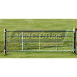 Portail de clôture, 5 m réglable