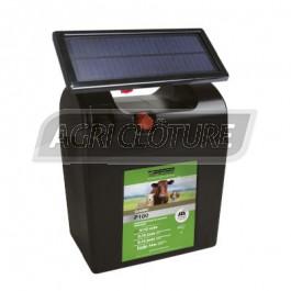 Ensemble poste clôture solaire 9V OU 12V modèleBeaumont P180 Solar