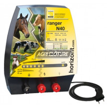Electrificateur clôture électrique 230V modèle Ranger N40 performances élevées
