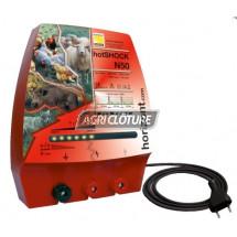 Clôture électrique 230V modèle hotSCHOCK N50 forte performance