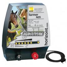 Clôture électrique 230V modèle Farmer N25 performances Moyennes