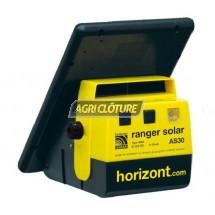Clôture électrique 6V 7ah modèle Ranger Solar AS30