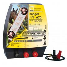 Clôture électrique 12V modèle Ranger A70 performances élevées