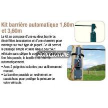 kit barrières automatique largeur de 1,80m.