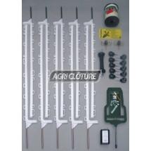 Clôture 6 volts modèle Horsegard( Kit avec fils et piquets)