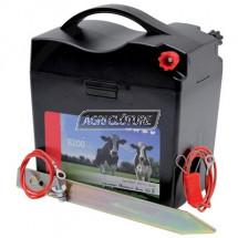 Electrificateur sur batterie idéale pour parc chevaux, chevres, mouton, bovin... jusqu'a 2.5 Hectares