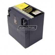 Batterie  gel décharge lente pour électrificateur rechargeable, 12V / 12Ah(L150xl98h95mm)