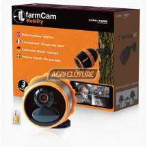 FarmCam Mobility Surveillance votre exploitation agricole sur votre smatphone, Où que vous soyiez grâce à sa connexion 3G/4G avec capteur de mouvement, enregistrement. LUDA