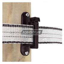 Isolateur à visser pour corde et ruban Adic, sachet de 25 pièces.