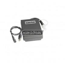 Kit batterie pour alimenter une caméra sans fils sur une durée de fonctionnement d'environ 8 h