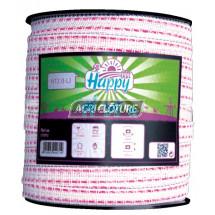 Ruban clôture 20 mm Fancy Tape Horizont couleur Violet Bobine 200 m